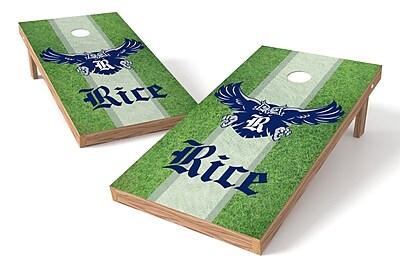 Tailgate Toss NCAA Field Game Cornhole Set; Rice Owls