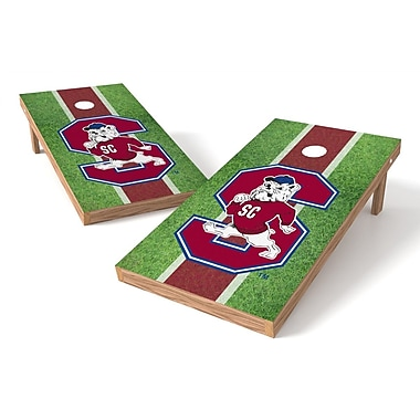 Tailgate Toss NCAA Field Cornhole Game Set; South Carolina State Bulldogs