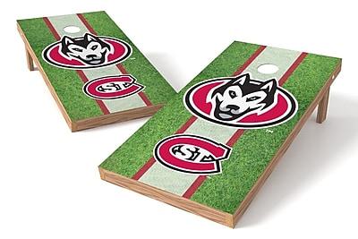 Tailgate Toss NCAA Field Game Cornhole Set; St. Cloud State Huskies