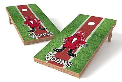 Tailgate Toss NCAA Field Game Cornhole Set; St. John's Red Storm