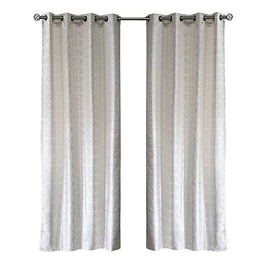 Lite Out Lite Out Thermal Blackout Curtain Panels (Set of 2); Ivory