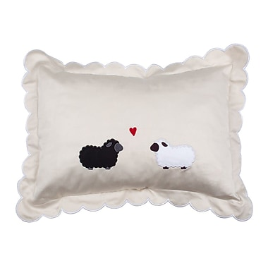 Petite Vigogne Black Sheep Decorative Sham