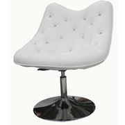Whiteline Imports Sandy Lounge Chair; White