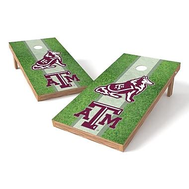 Tailgate Toss NCAA Field Cornhole Game Set; Texas A&M Aggies