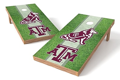 Tailgate Toss NCAA Field Game Cornhole Set; Texas A&M Aggies