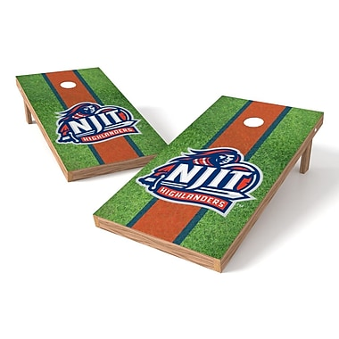 Tailgate Toss NCAA Field Cornhole Game Set; NJIT Highlanders
