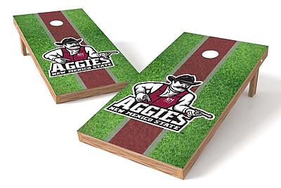 Tailgate Toss NCAA Field Cornhole Game Set; New Mexico State Aggies