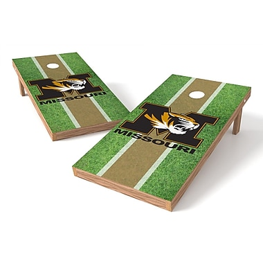 Tailgate Toss NCAA Field Cornhole Game Set; Missouri Tigers