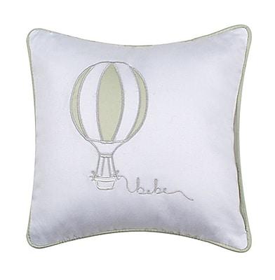 Petite Vigogne Air Balloon Throw Pillow