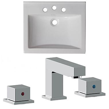 American Imaginations Omni 21'' Single Bathroom Vanity Top