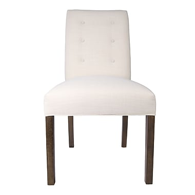 Sole Designs Kacey Parsons Chair (Set of 2); Ivory