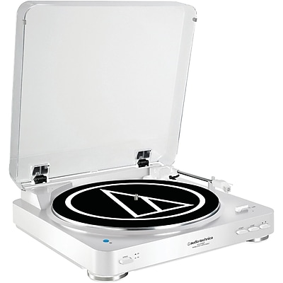 Audio Technica At-Lp60Wh-Bt Fully Automatic Wireless Belt-Drive