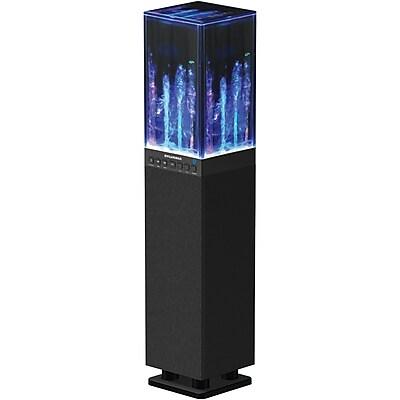 Sylvania Sp118-Black Water Dancing Bluetooth Mini Tower Speaker