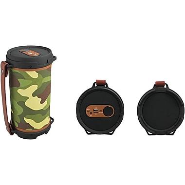Sylvania Sp807-Camo Hi-Fi Bluetooth Rugged Tube Speaker (Camouflage)