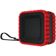 Coleman Cbt14-R Aktiv Sounds Waterproof Bluetooth Cube Speaker (Red)