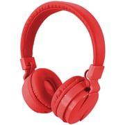 Ilive Iahb6R Bluetooth Wireless Headphones With Microphone (Red)