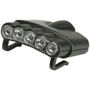 Cyclops Cyc-Hc5-W Orion 5 Hat Clip Light With 5 Clear Led Lights