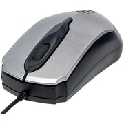 Manhattan 179423 Edge Optical Usb Mouse (Gray/Black)