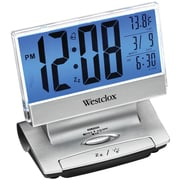 Westclox 72021X Electric Lcd Display Usb-Charging Alarm Clock