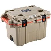 Pelican 50Q-2-Tanorg 50-Quart Elite Deluxe Cooler (Beige)