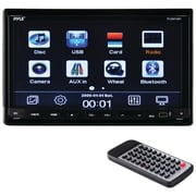 """Pyle Pro Pldn74Bt 7"""" Double-Din In-Dash Lcd Motorized Slide-Down Touchscreen Dvd Receiver With Bluetooth"""