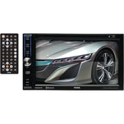 "Soundstorm Dd664B 6.2"" Double-Din In-Dash Touchscreen Dvd Receiver With Bluetooth"