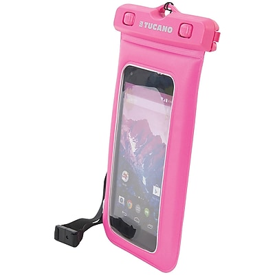 """""Tucano Pape-5-F Floating Waterproof Case For 5"""""""" Smartphones (Pink)"""""" 2442803"