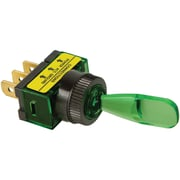Battery Doctor 20501 On/Off Illuminated 20-Amp Toggle Switch (Green)