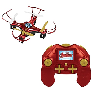 Marvel 33758 Remote-Control 4.5-Channel 2.4Ghz Marvel Iron Man Micro Drone