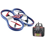 Marvel 34887 Remote-Control 4.5-Channel 2.4Ghz Marvel Captain America Super Drone