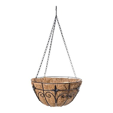 Panacea Products Steel Hanging Planter