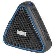 iHome iBT37BLC Waterproof + Shockproof Wireless Speaker, Black/Blue