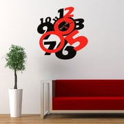 Vandue Corporation Modern Home DIY 3D Wall Clock