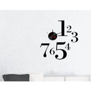 Vandue Corporation Modern Home Self Adhesive DIY 3D Wall Clock