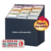 Smead Stadium Expanding File, Alphabetic/Monthly/Daily, Household/Blank Labels, 12 Pockets, Letter, Navy (70211)