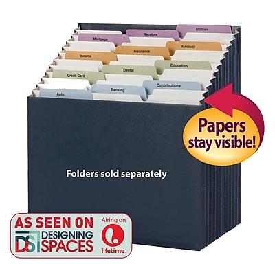 Smead Secure Expanding File, Black, Letter, Each (70776)