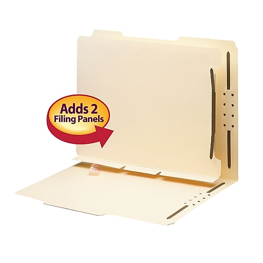 "Smead® Self-Adhesive Folder Divider, Letter Size, 1"" Twin"