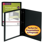 Smead® Frame View Report Covers with Fastener Closure
