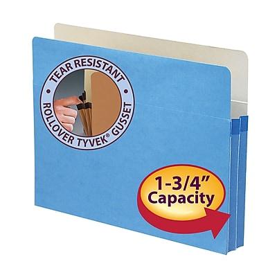 Smead Straight Cut File Pockets, 1-3/4