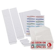 Smead® Viewables® Premium 3D Hanging Folder Tabs and Labels Bulk Pack of 100 (64910)