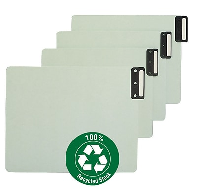 Smead Vertical End Tab Guides, Blank, Letter, Green, 12 1/4