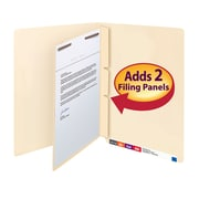 Smead® Self-Adhesive Letter-Size Dividers with Fasteners; 100/box