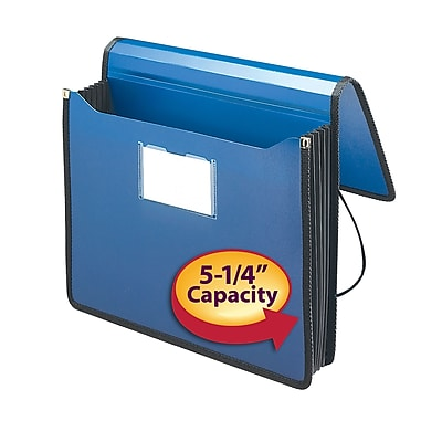 Smead Poly Premium Expanding Wallet, 5-1/4