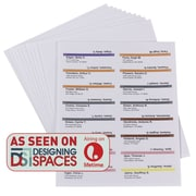 Smead® Viewable Labeling System, Label Refill Pack, Hanging Folder Labels, Ink-Jet and Laser Printers (64915)