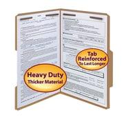 Smead Top Tab Fastener Folders, Legal, Kraft, 50/Box (19882)
