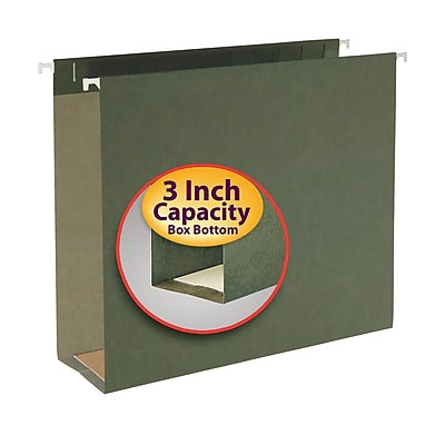 Smead Hanging Box Bottom File Folder, 3
