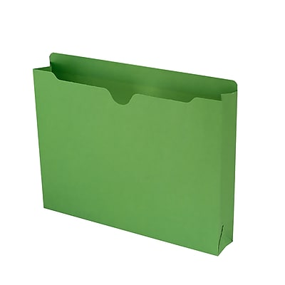 Smead Reinforced Straight Cut Colored File Jackets, 2