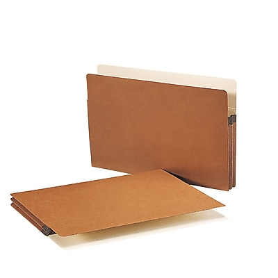 Smead Straight Cut File Pockets, 1-3/4