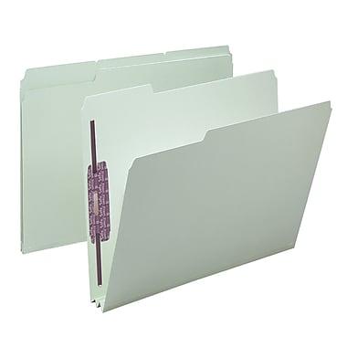 Smead® Pressboard File Folder with SafeSHIELD® Fasteners, 1/3-Cut Tab, 2