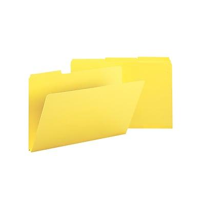 Smead Pressboard File Folder, 1/3-Cut Tab, 1